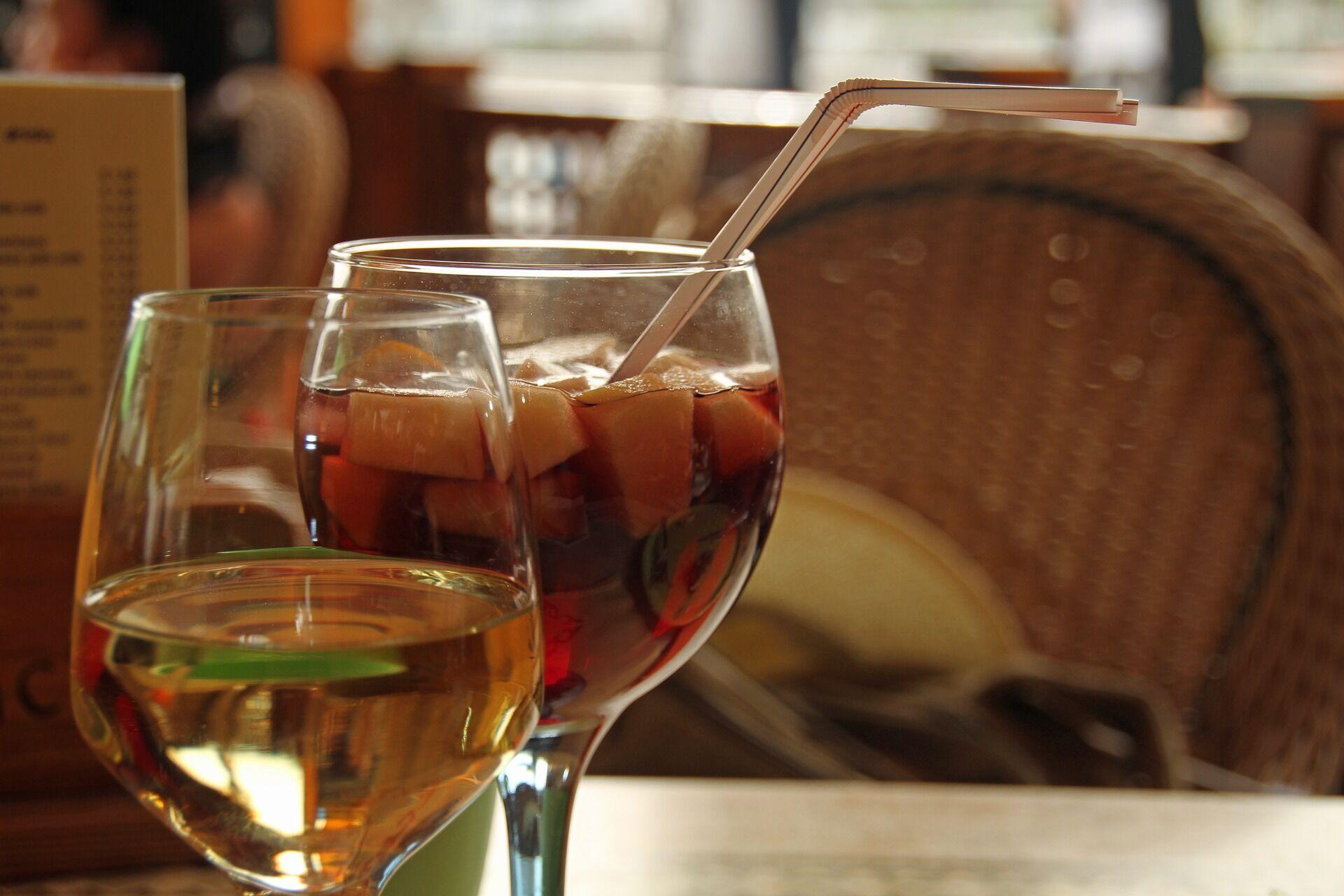 Сангрія з білого вина