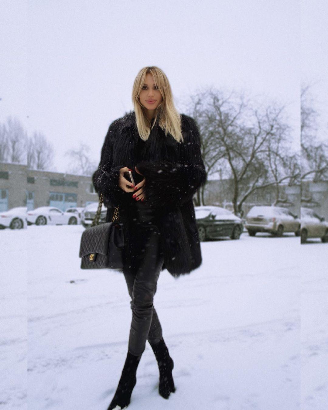 Лобода вже приїжджала в Україну взимку
