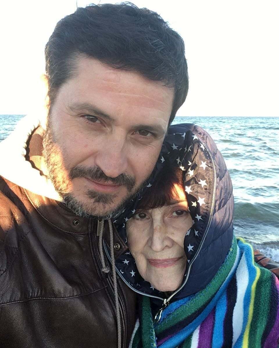 Ахтем Сеитаблаев с мамой
