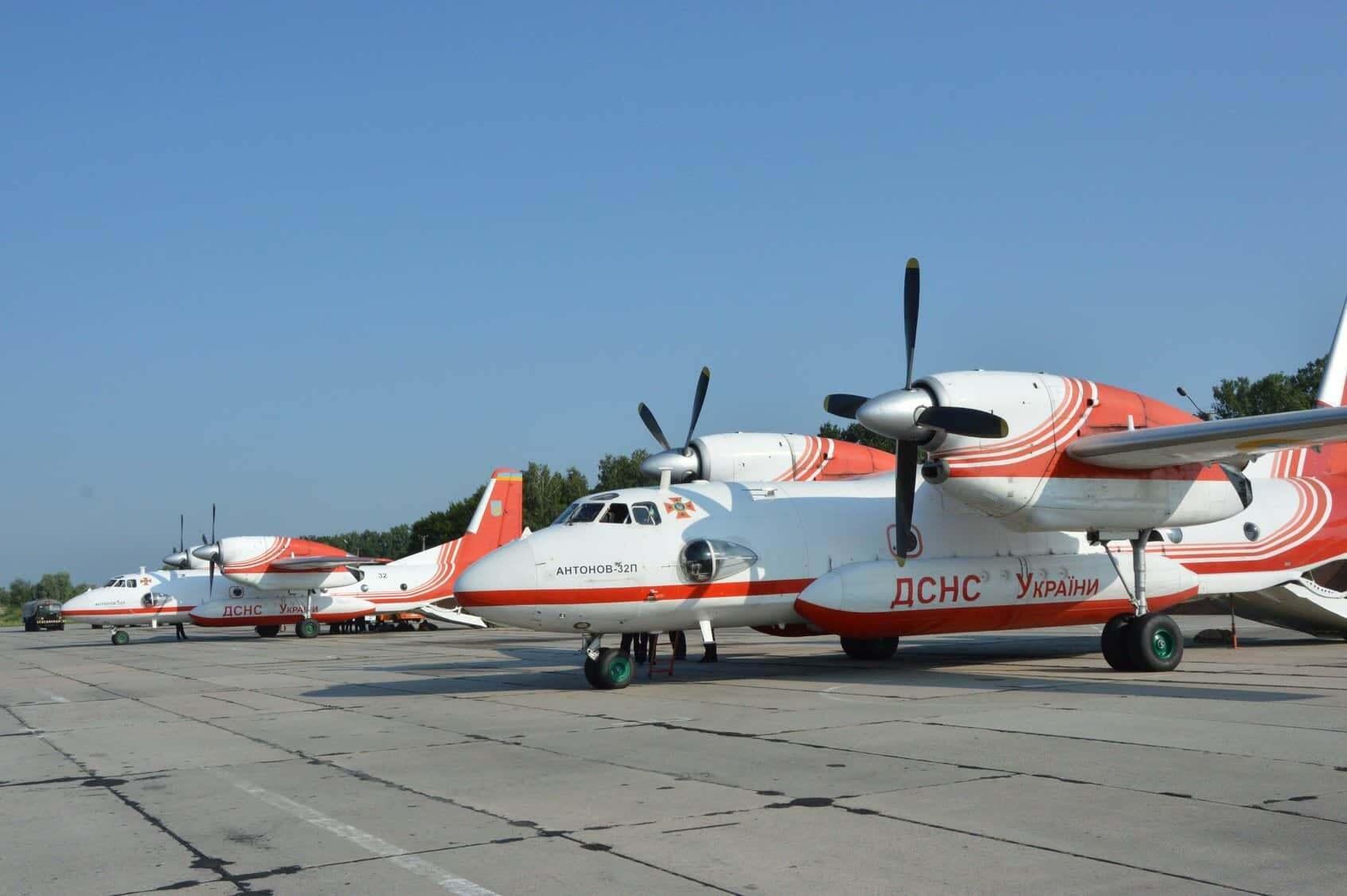 Украина направила в Турцию самолеты Ан-32П
