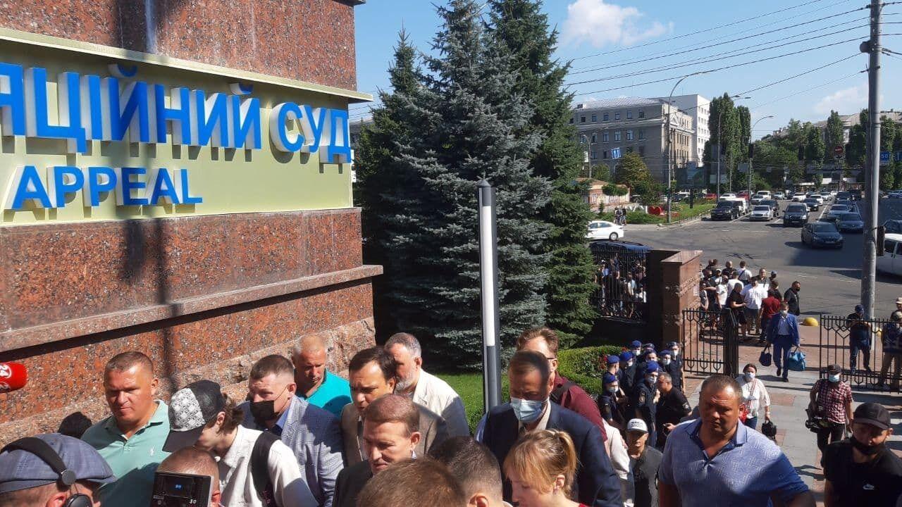 Медведчук прибыл в суд