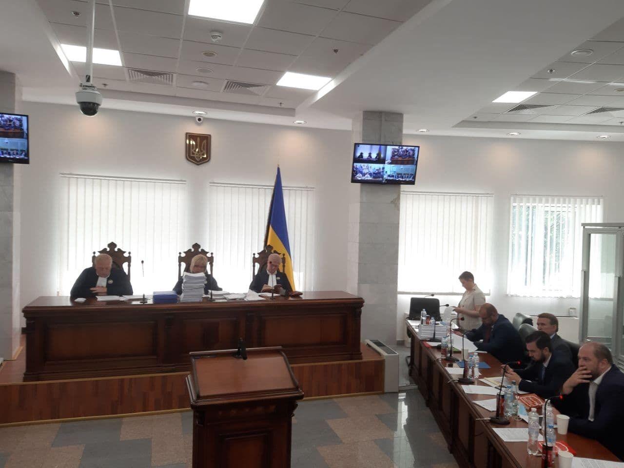 Медведчук прибув до суду