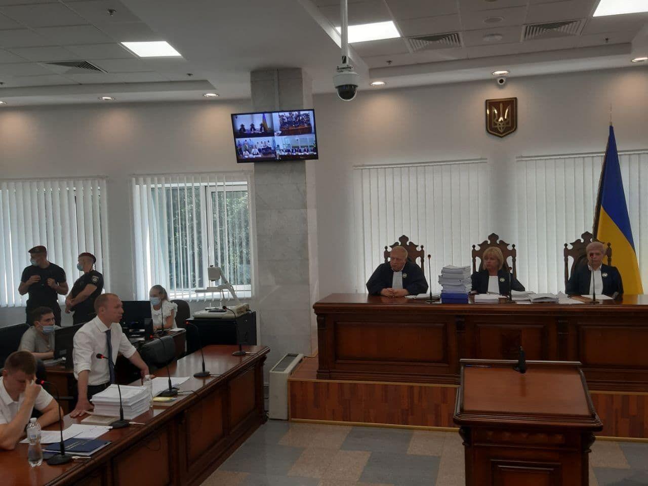 Прокуратура на суді у справі Медведчука