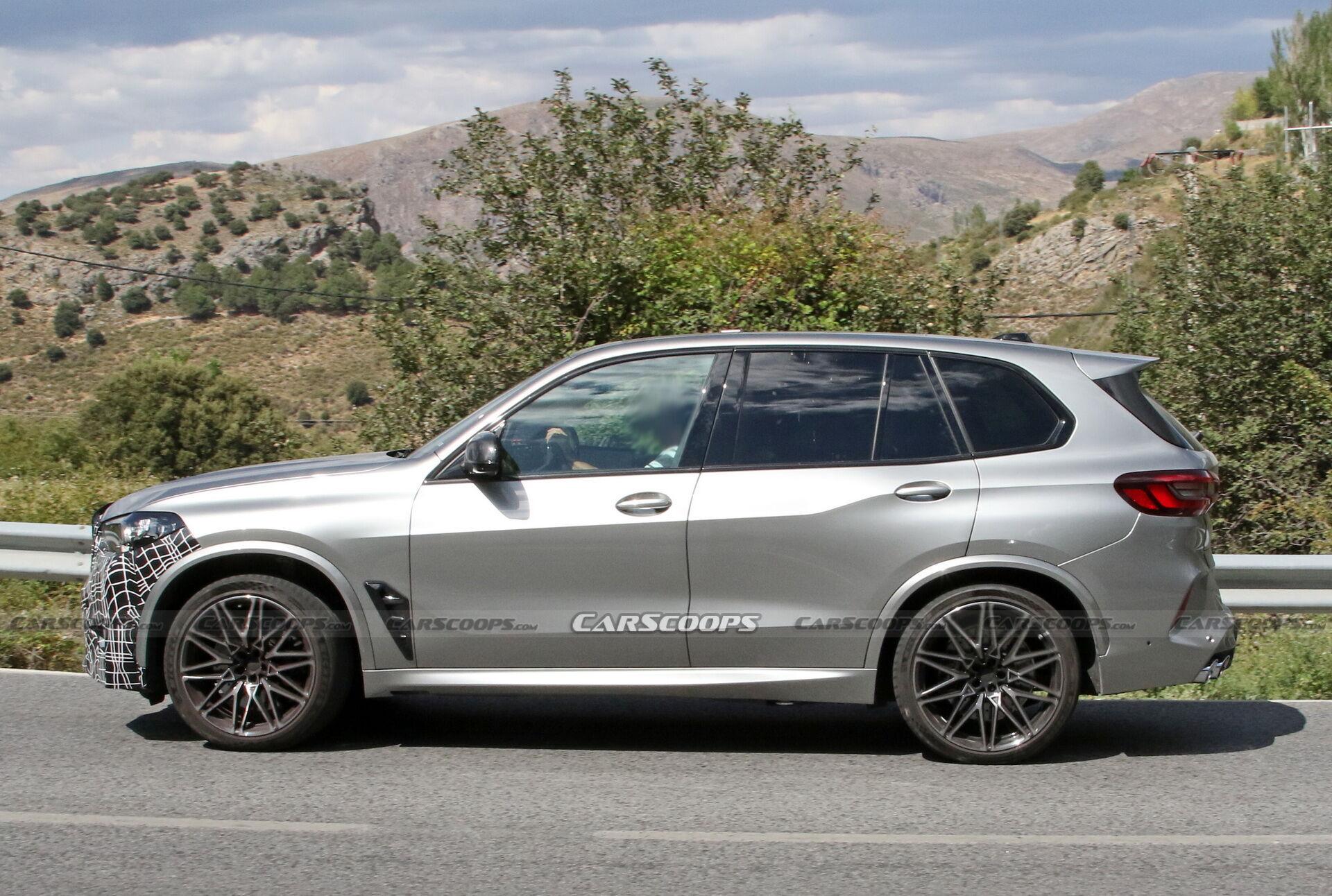 Рестайлинговый BMW X5 M будет оснащаться 4,4-литровым двигателем V8 с двумя турбинами, мощность которого будет увеличена