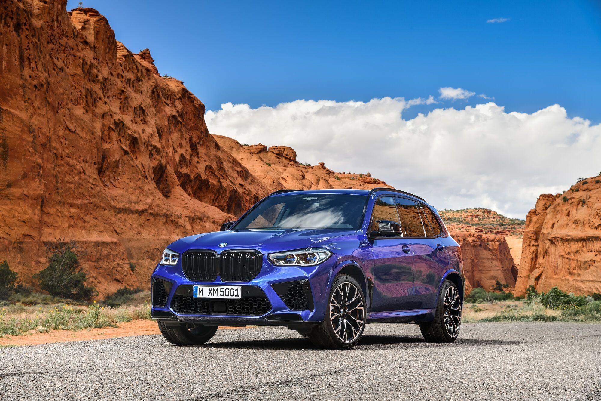 Актуальное поколение BMW X5 M