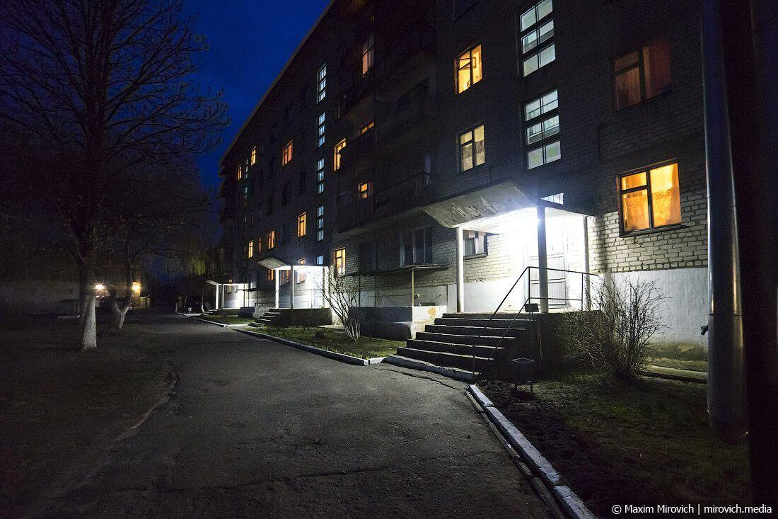 Огни ночного Чернобыля