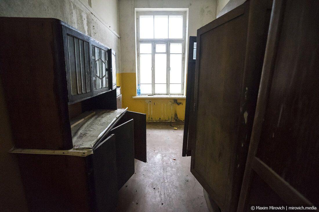Больница в еврейском квартале Чернобыля