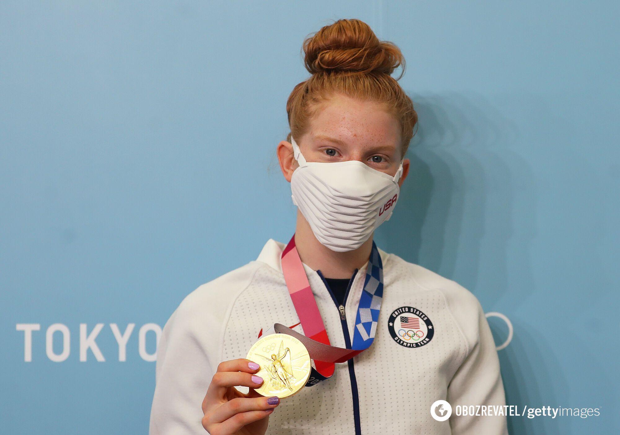 Американская пловчиха Лидия Джейкоби