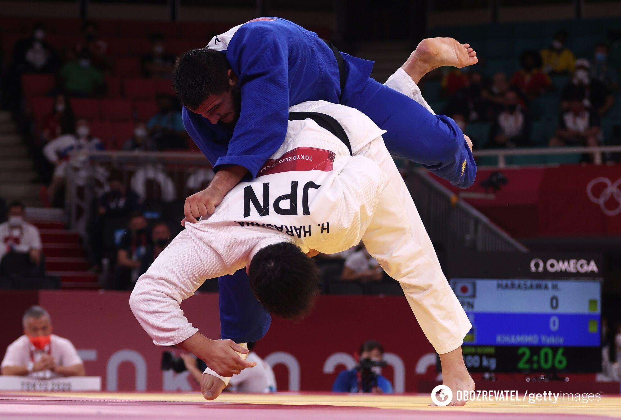 Хаммо проиграл японцу в четвертьфинале