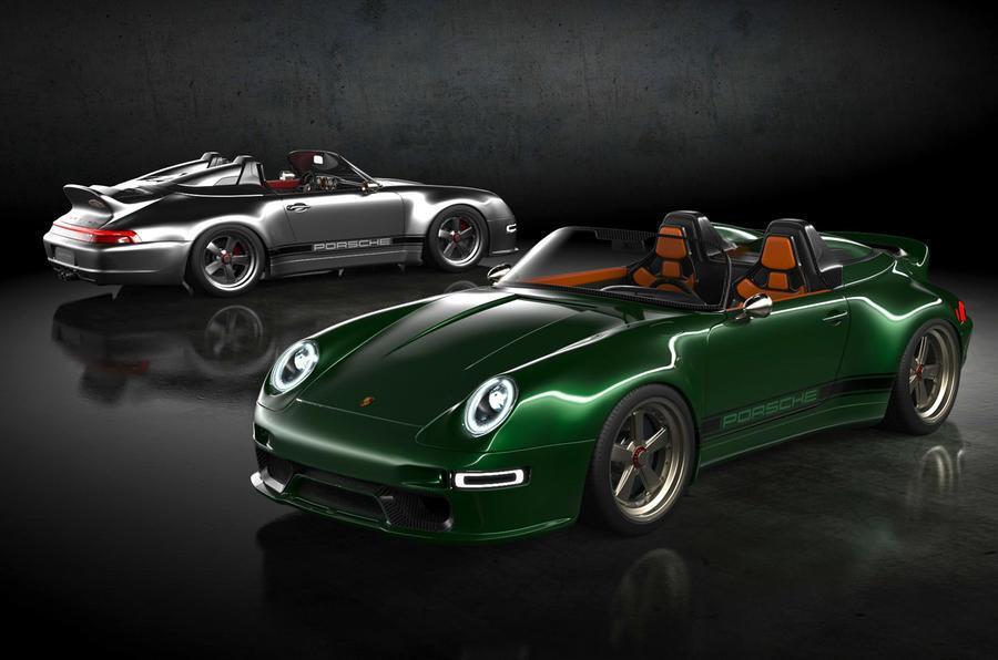 Модель 933 Speedster Remastered создана по мотивам Porsche 911 (993)