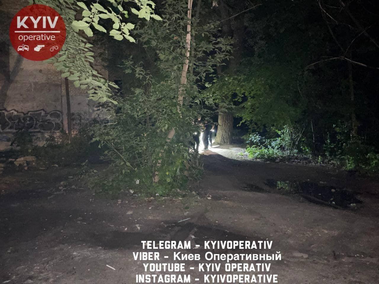 В Подольском районе произошел взрыв.