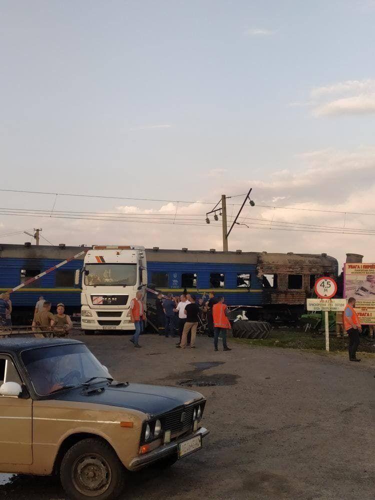 Из-за аварии задерживается ряд поездов
