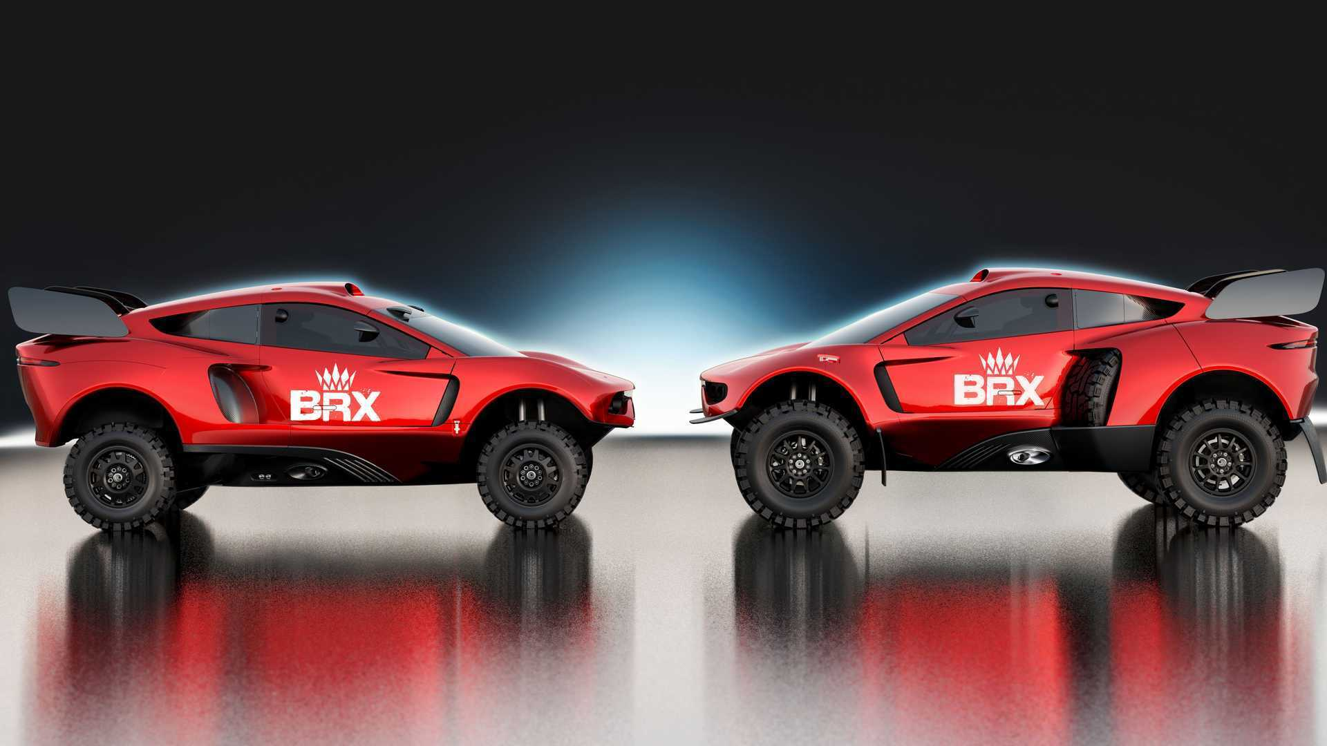Кузов на 50% новый. Причем, как и прежде, над обликом нового BRX Hunter T1+ работал бывший шеф-дизайнер Jaguar Ян Каллум