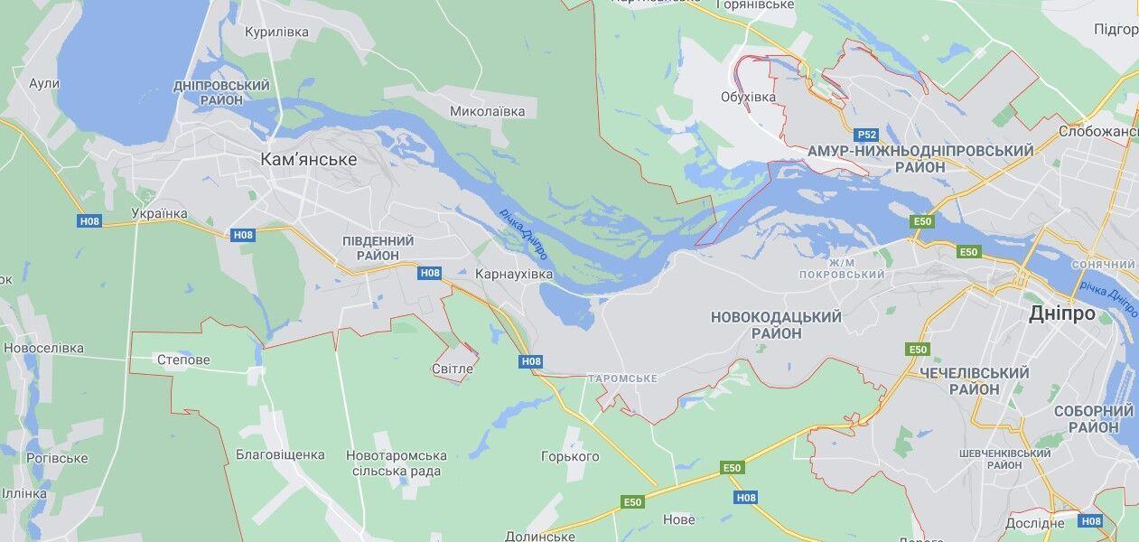 Аварія трапилася на 451 км дороги Н08 у Дніпровському районі Дніпра