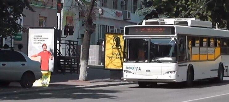 Жители Кропивницкого прививку против COVID-19 смогут получить в троллейбусе