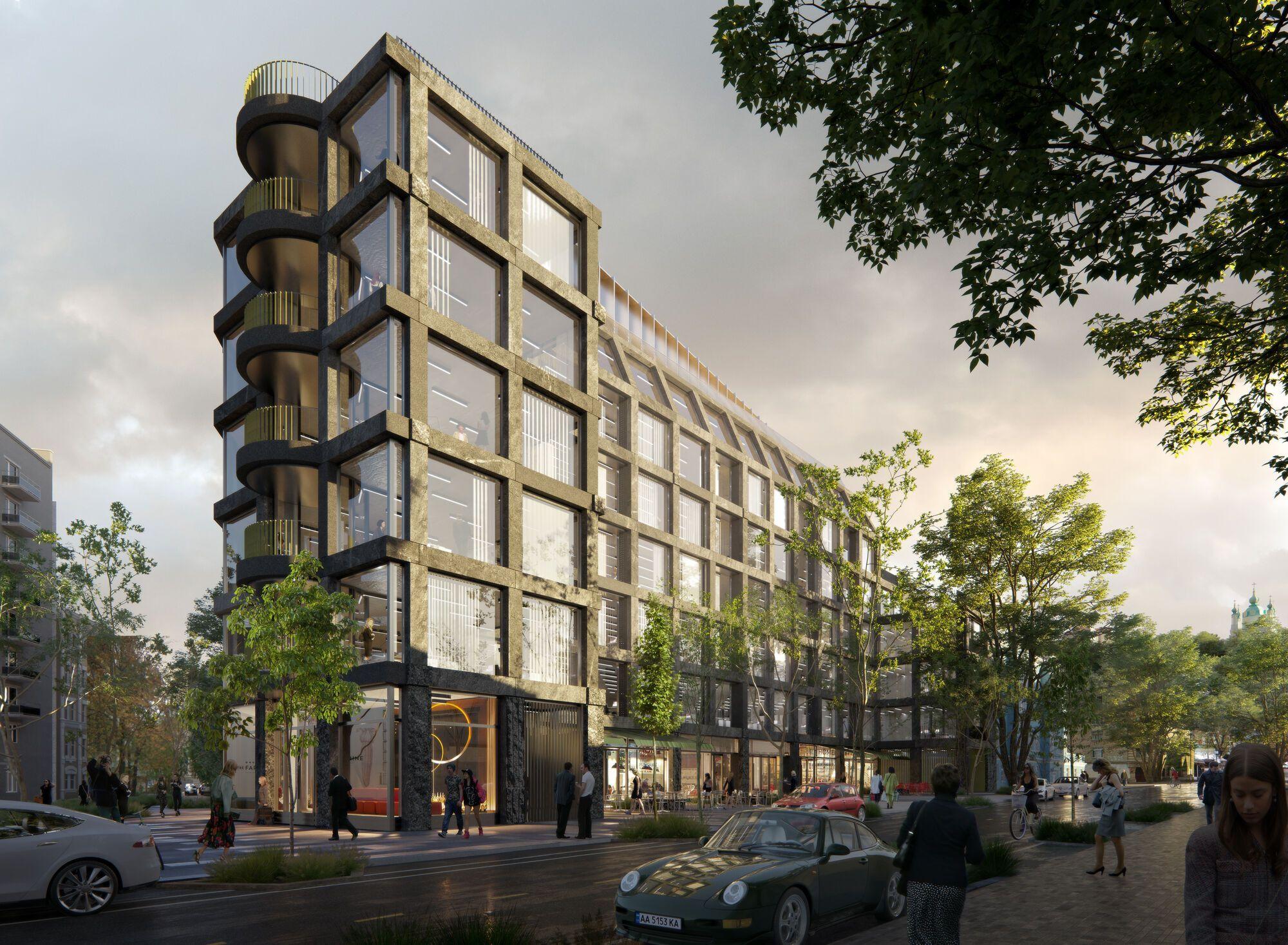 Часть ANDRIYIVSKY City Space займут апартаменты