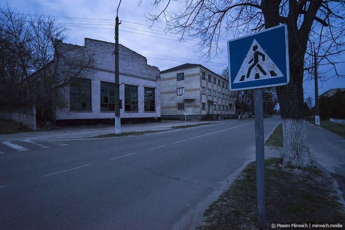 Заброшенный чугунолитейный завод Чернобыля