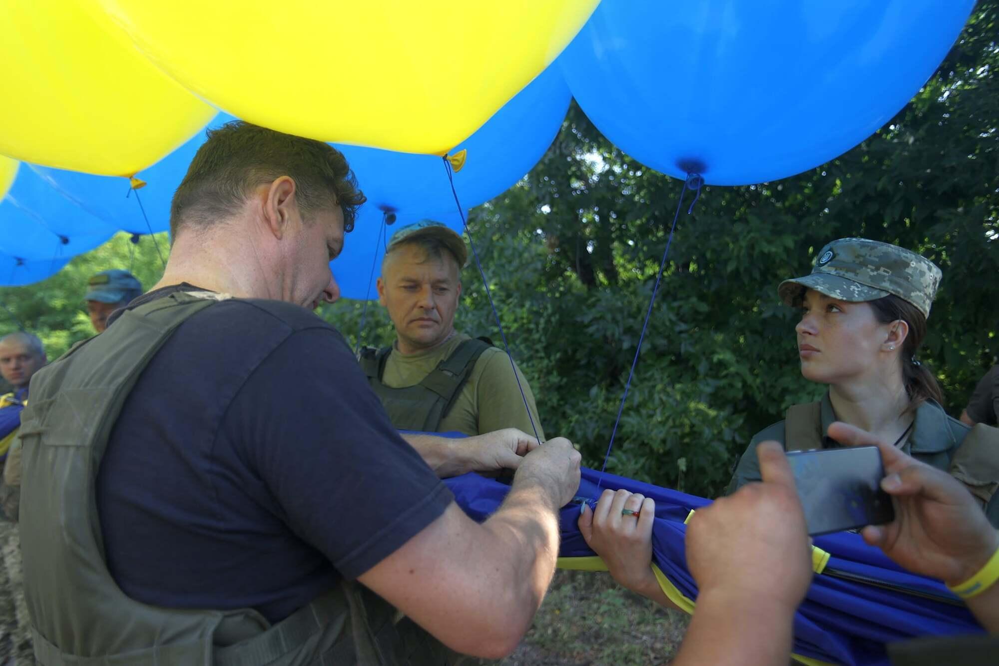 В акции принимали участие военные