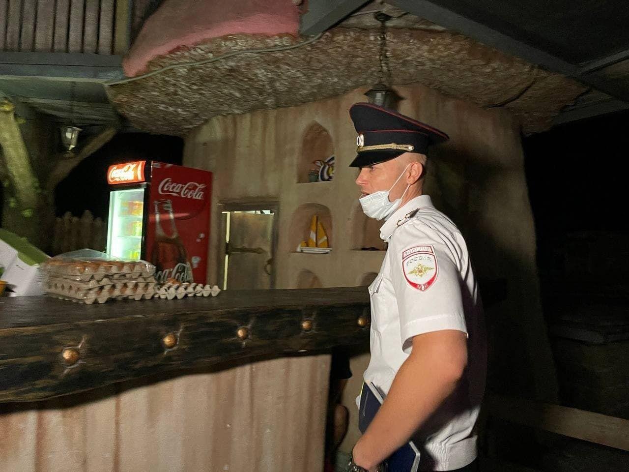 Поліцейський РФ в Поповці.