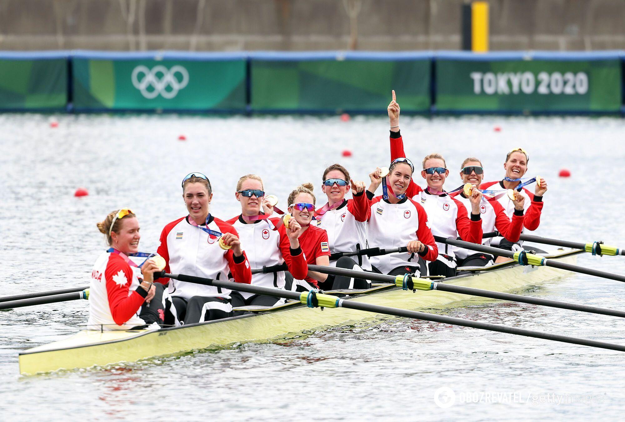 Збірна Канади з веслування на ОІ-2020