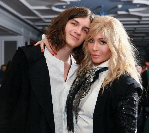 Ирина Билык с сыном Глебом