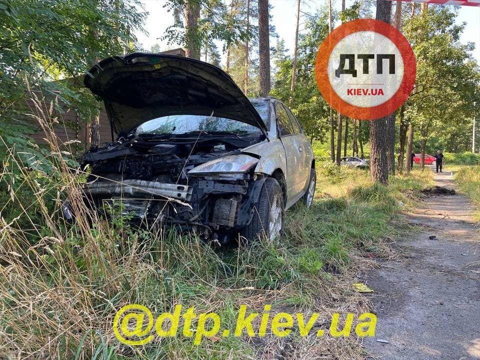 В аварії постраждала одна людина.