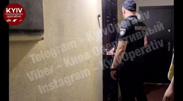 Співробітники карного розшуку Оболонського УП і патрульна поліція столиці прибули додому до стрілка