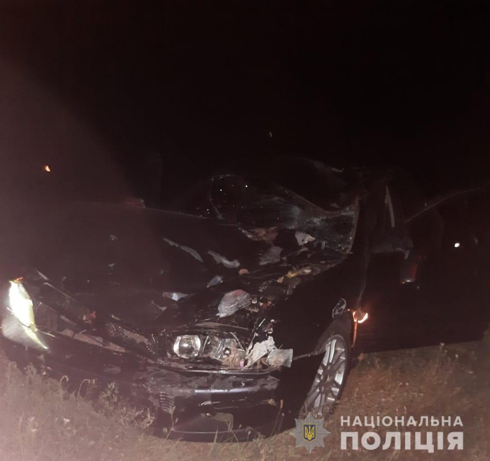 Автомобіль після ДТП.