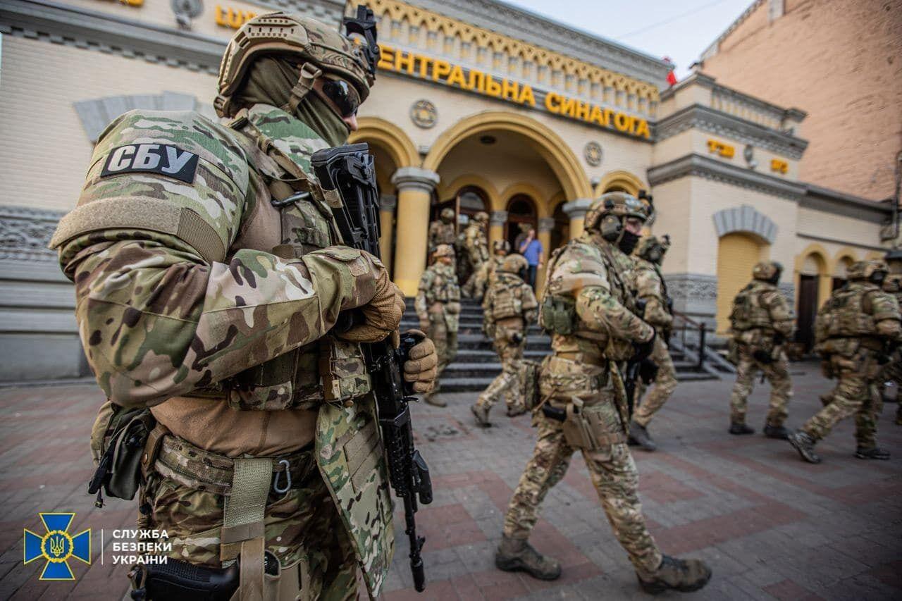 СБУ ловила в Киеве террористов, захвативших синагогу