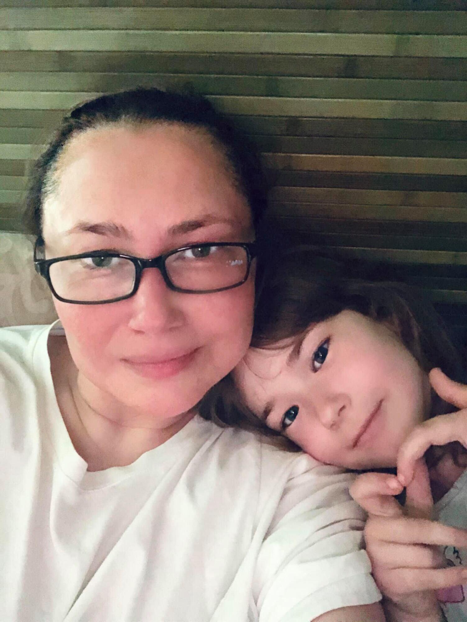 Алена Мозговая заявила, что у нее появились проблемы со спиной