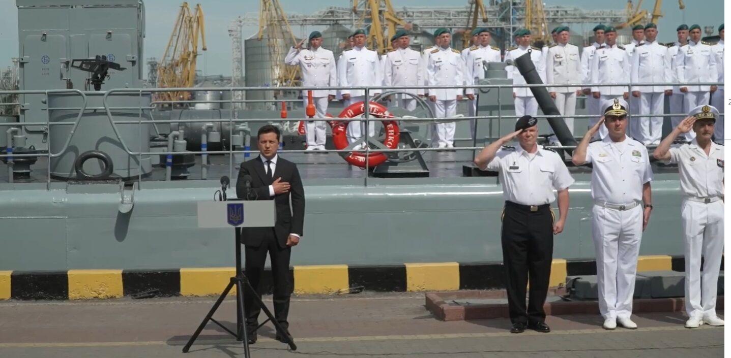 Зеленський прибув до Одеси в День ВМС.
