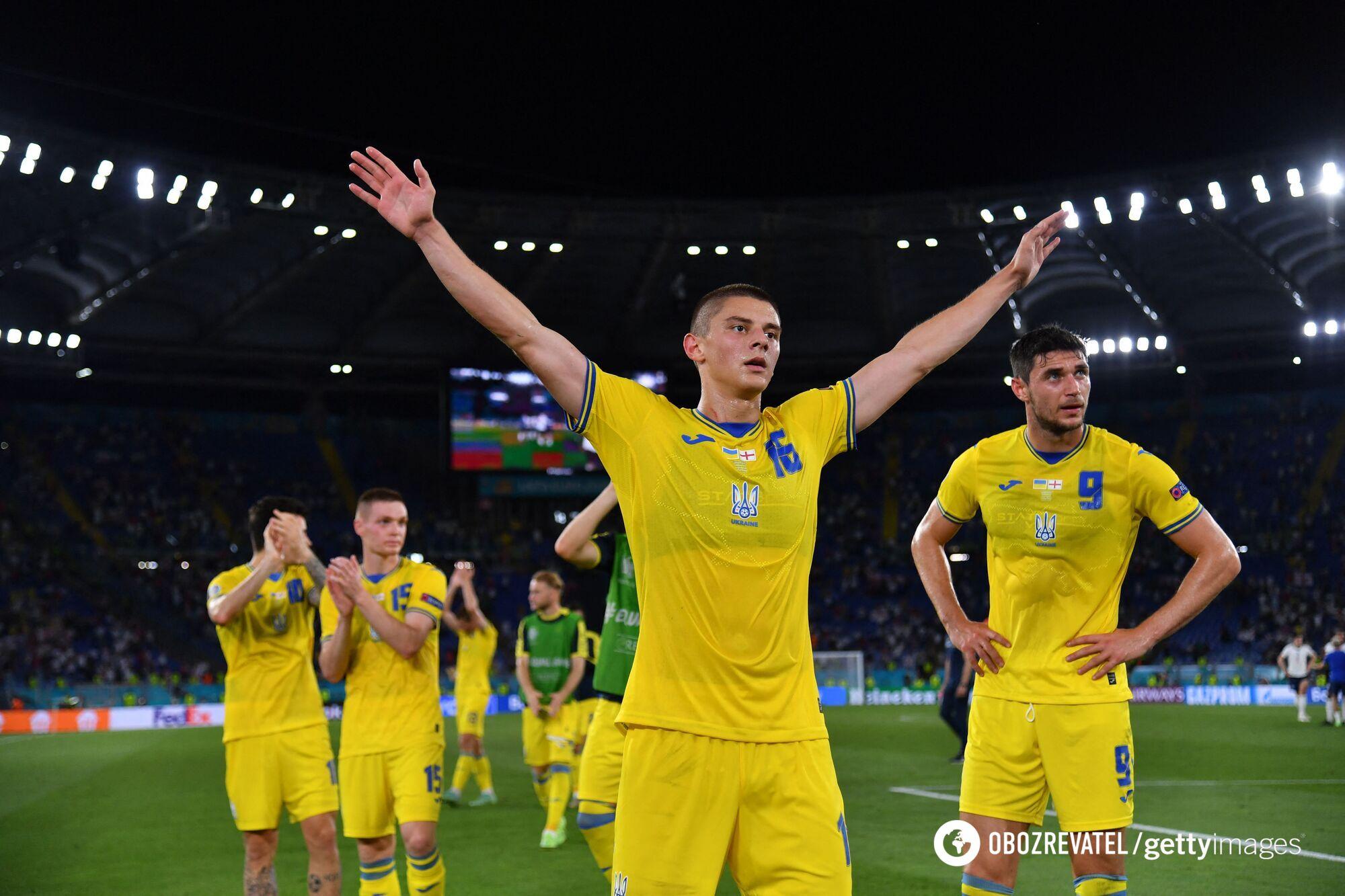 Украинская сборная вылетела после 1/8 финала.