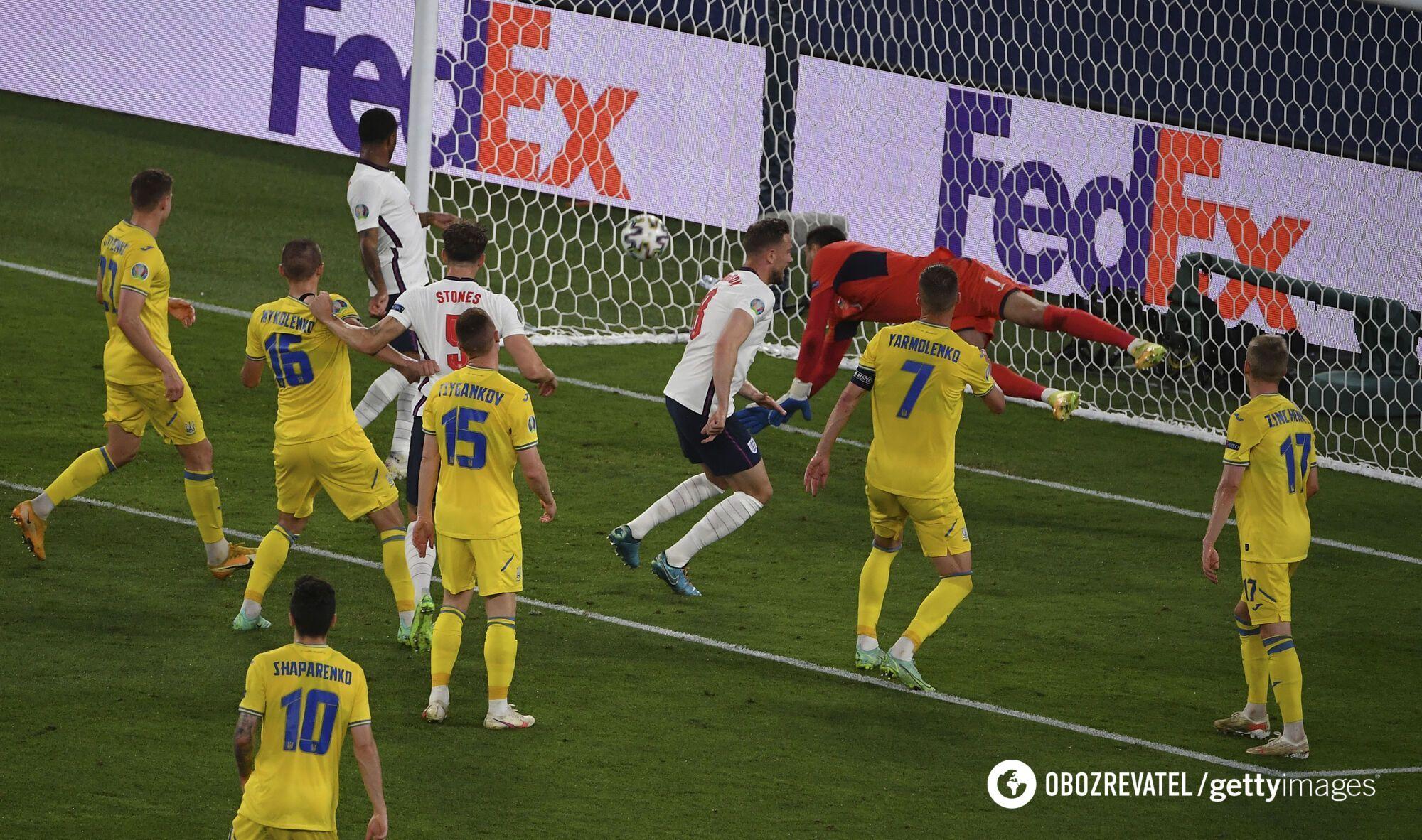 Україна програла Англії