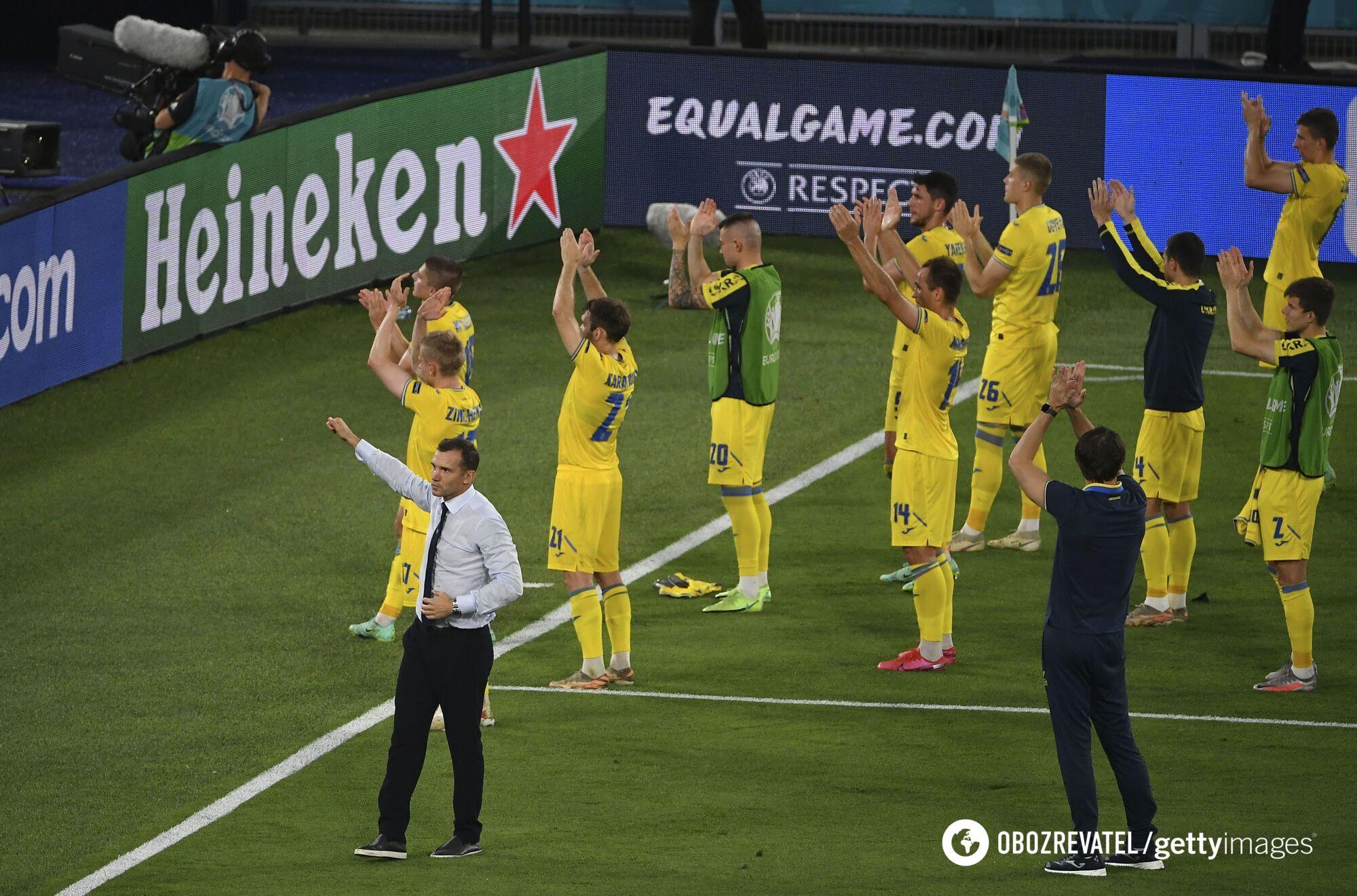 Збірна України подякувала вболівальникам після матчу з Англією.