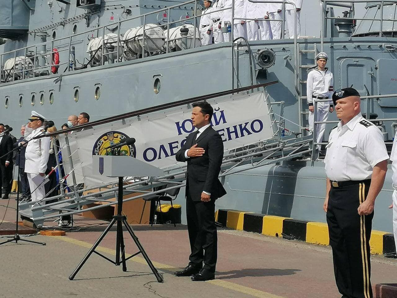 Президент анонсував побудову українського корвета.