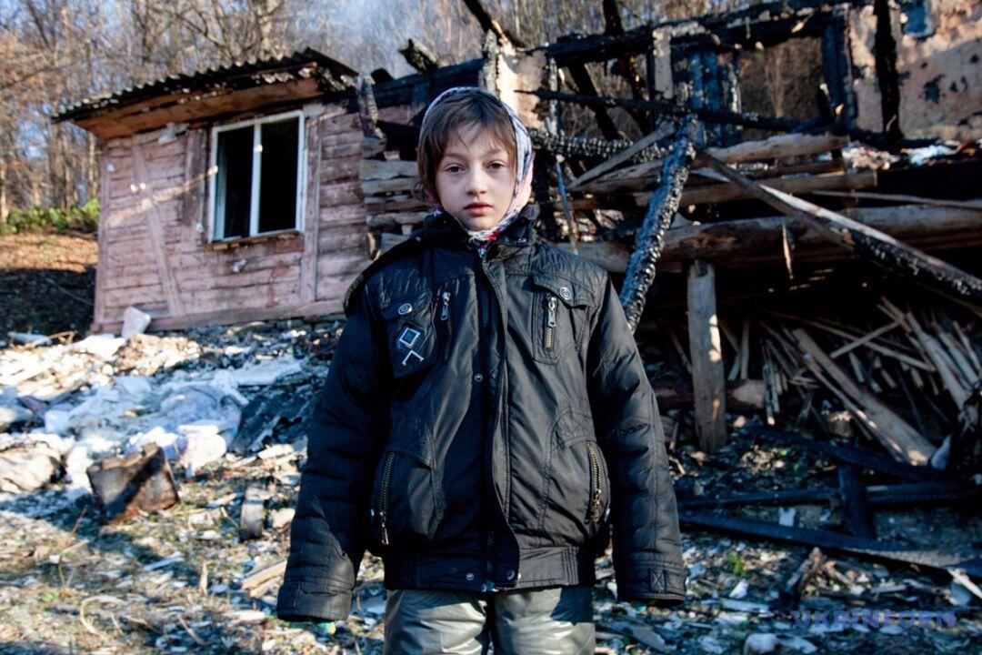 Софія Рознійчук врятувала дітей з пожежі