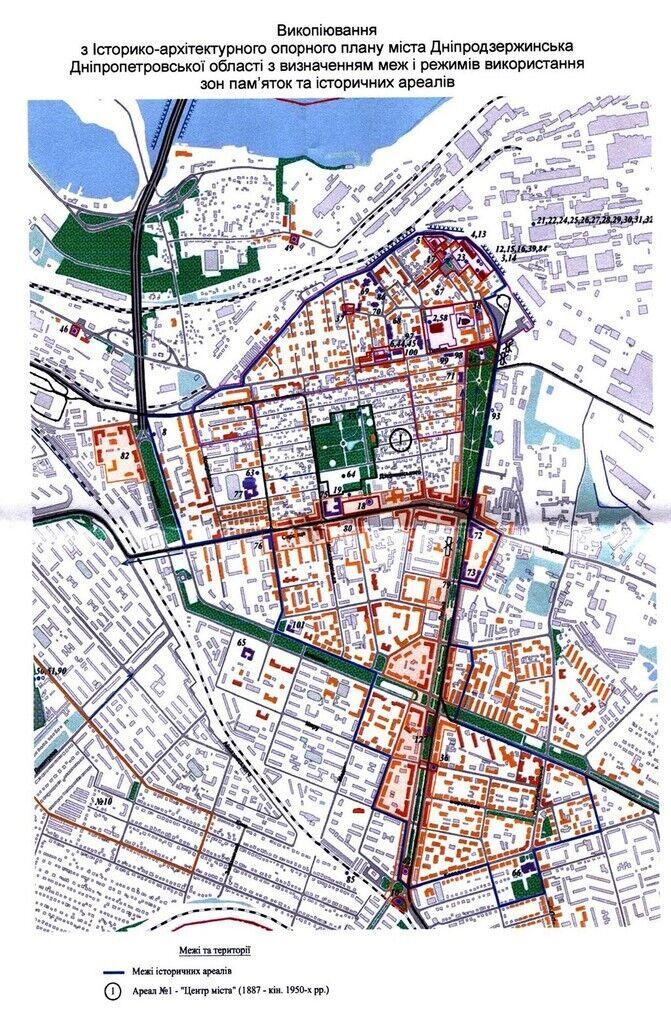 Участки Майдана Героев, на которых идет строительство МАФов, находятся в границах так называемого исторического ареала города №1