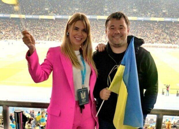 Анастасія та Андрій відвідали матч по футболу