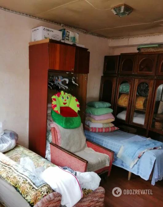 Оренда такої кімнати коштує від 130 гривень із людини на добу.