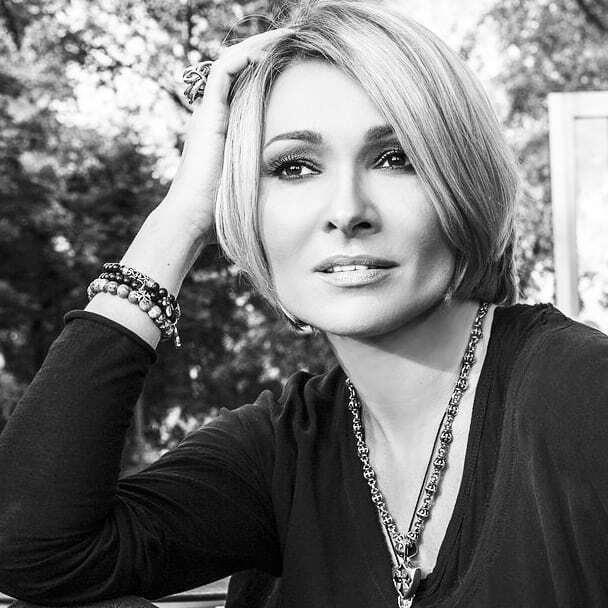 Певица Анжелика Агурбаш.