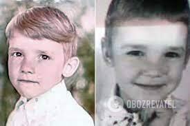 Андрей Шевченко в маленьком возрасте