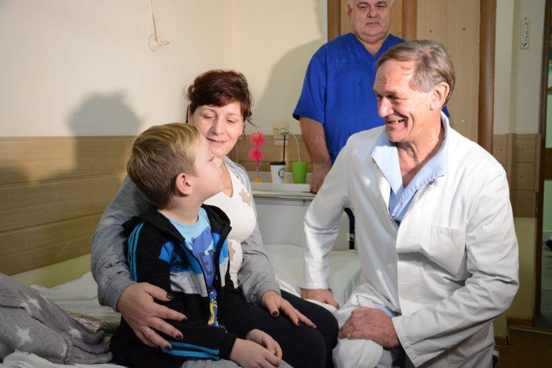 Клаус Екснер прибув до України з волонтерською місією.