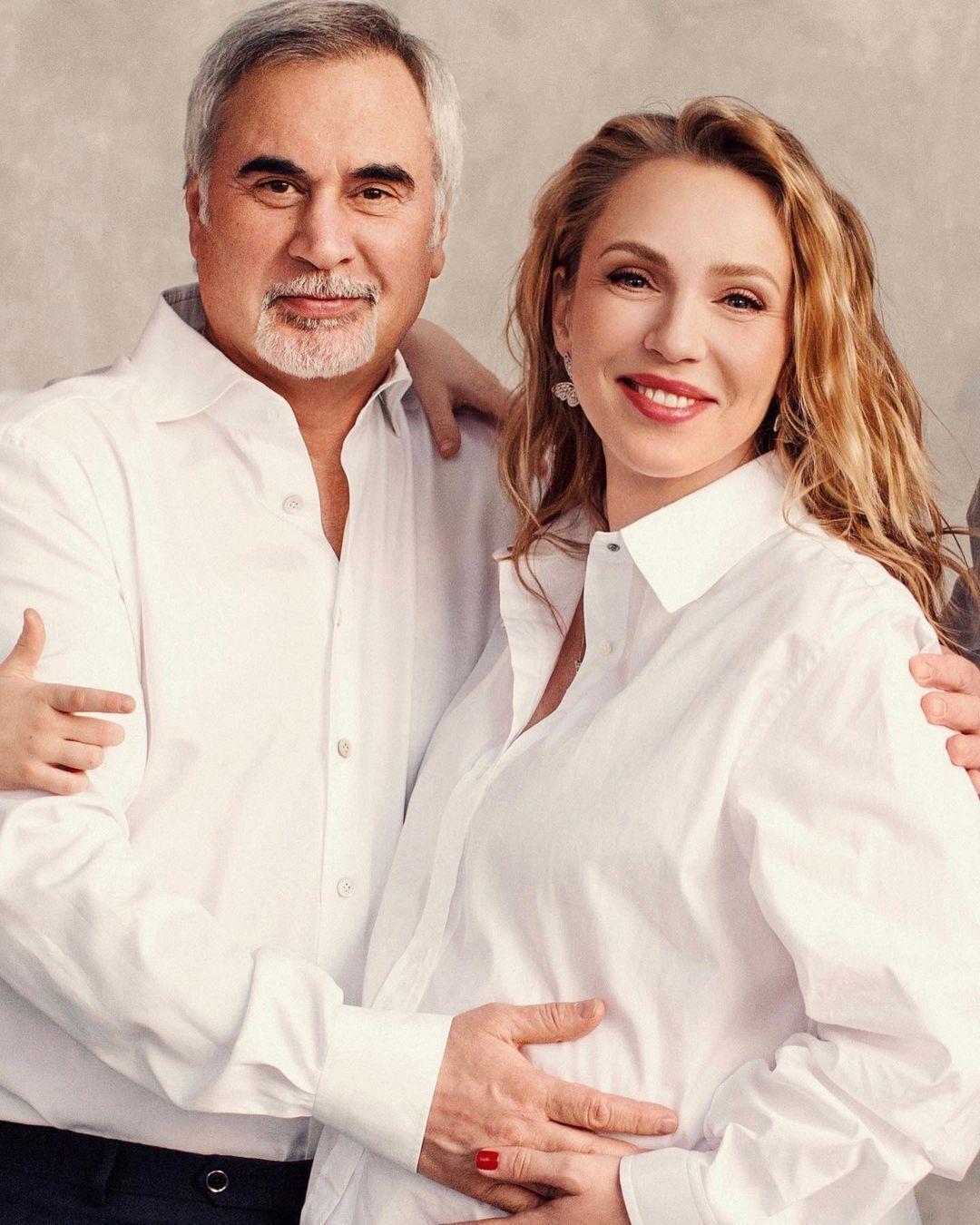 Російська співачка Альбіна Джанабаєва і Валерій Меладзе.