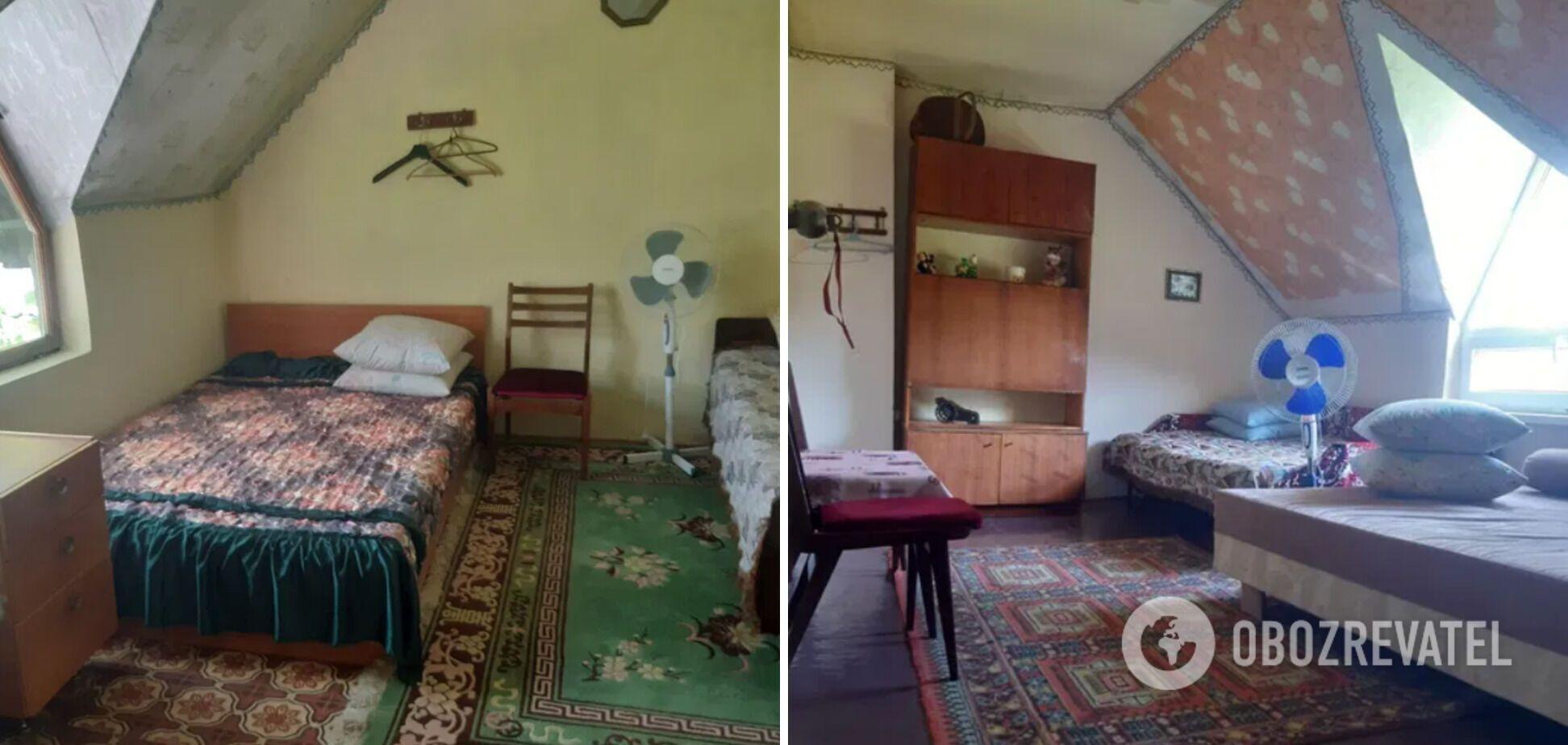 Орендувати таку кімнату можна за 220 гривень із людини.