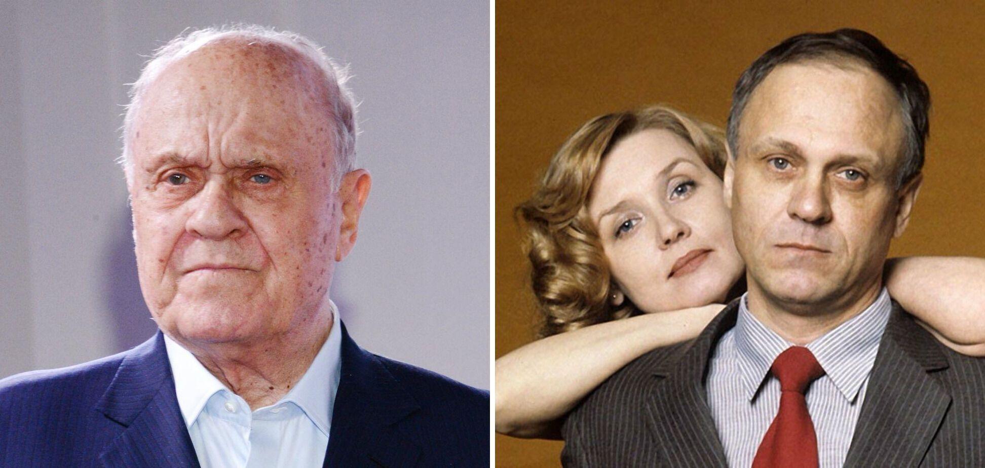 Владимир Меньшов и его жена Вера Алентова