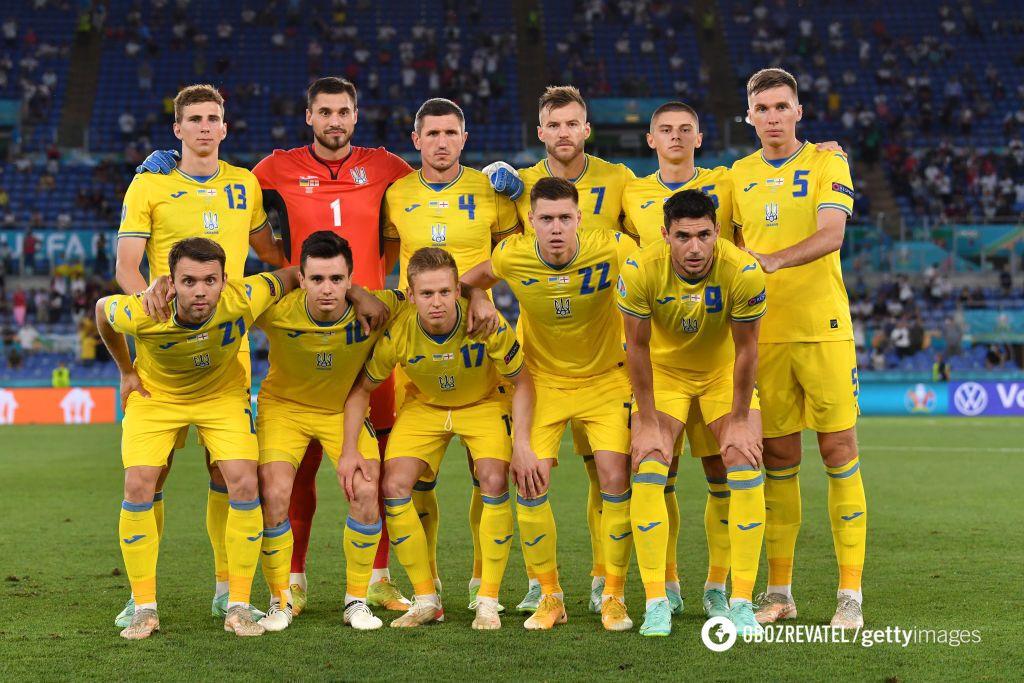 Збірна України з футболу.