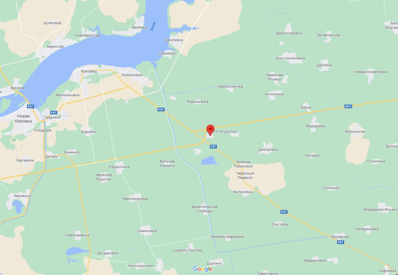 ДТП произошло возле села Петропавловка.