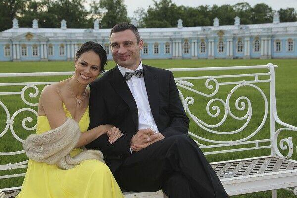 Виталий Кличко с супругой