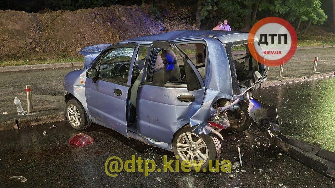 Пострадавшие в момент столкновения находились в Daewoo Matiz.