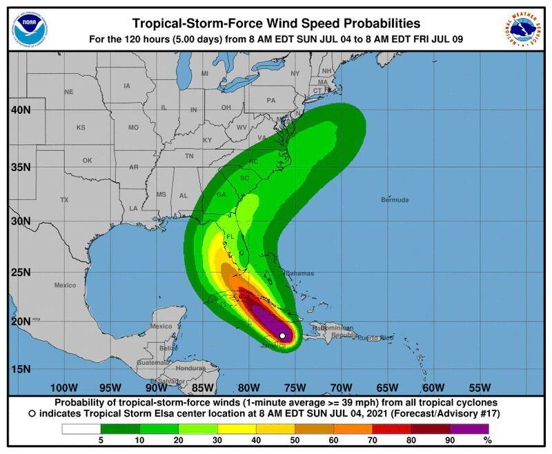 Прогноз щодо шторму